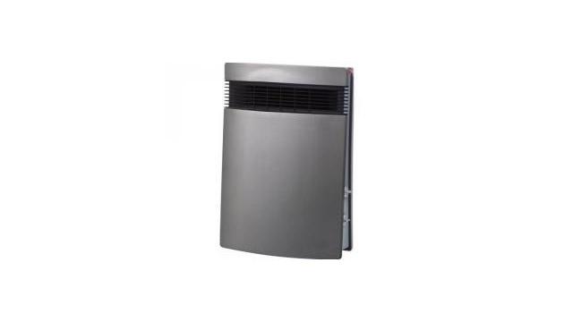 Steba Steba Litho KS1 Design Fast Heater Ventilatorkachel Wandbevestging Zilver