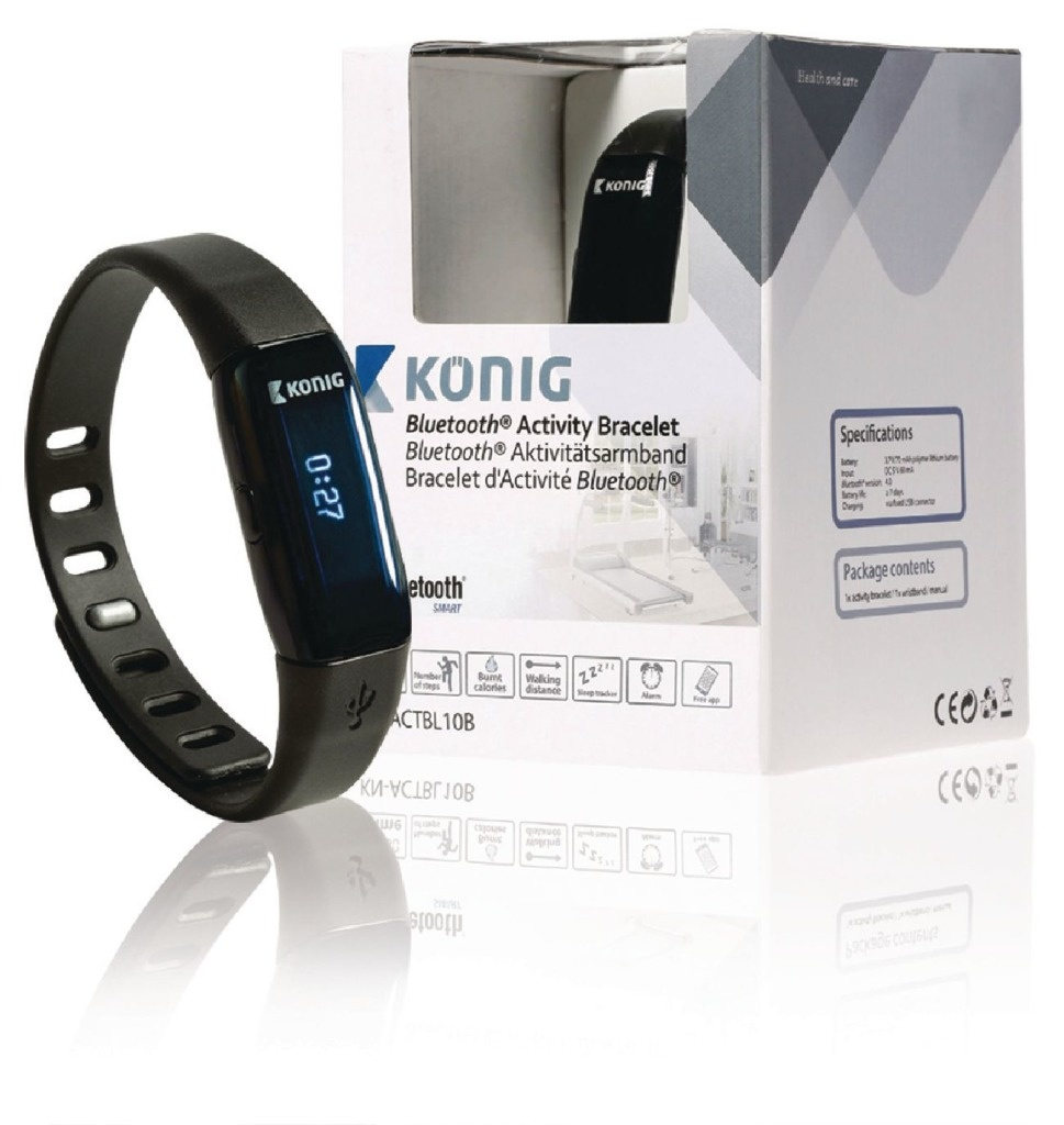 König König KN-ACTBL10B Bluetooth Sportarmband