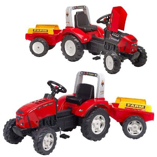 Falk Falk Lander Z240X Tractor met Aanhanger 3-7