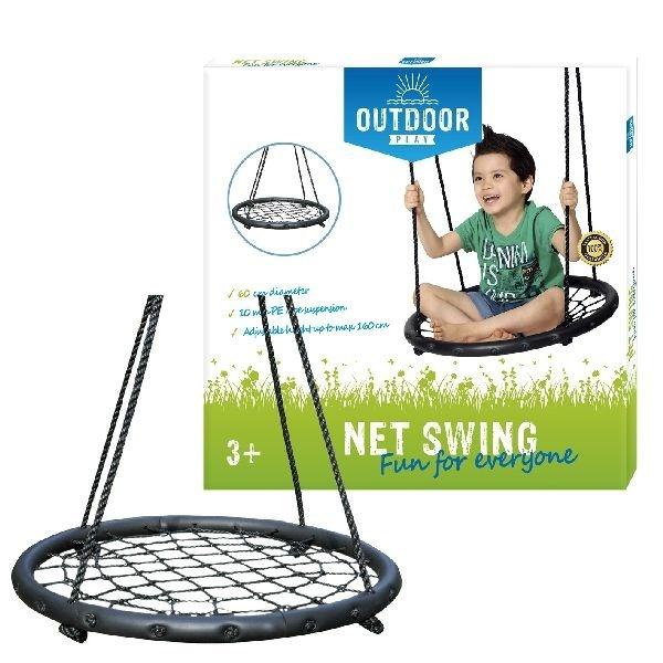 Outdoor-Play Outdoor Play Net Swing Schommel 60 cm