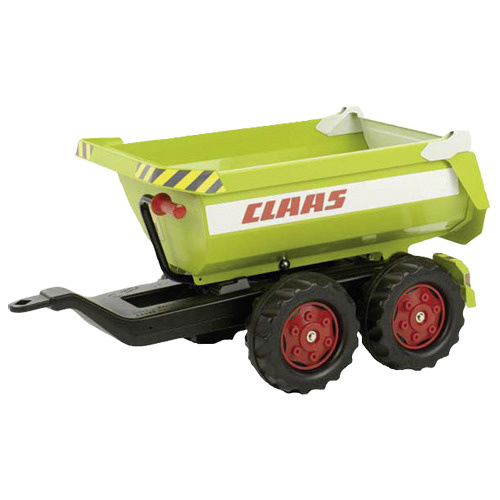 Rolly Toys Rolly Toys 122219 RollyHalfpipe Claas Trailer