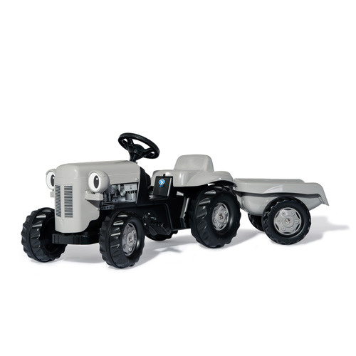 Rolly Toys Rolly Toys RollyKid Fergie Tractor met Aanhanger Grijs