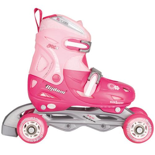 Nijdam Nijdam Junior Inline Quad Skates Roze 34-37