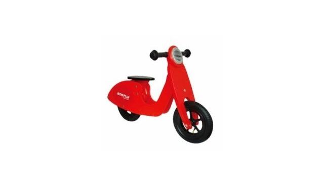 Simply for Kids Simply for Kids 22025 Houten Loopscooter Rood