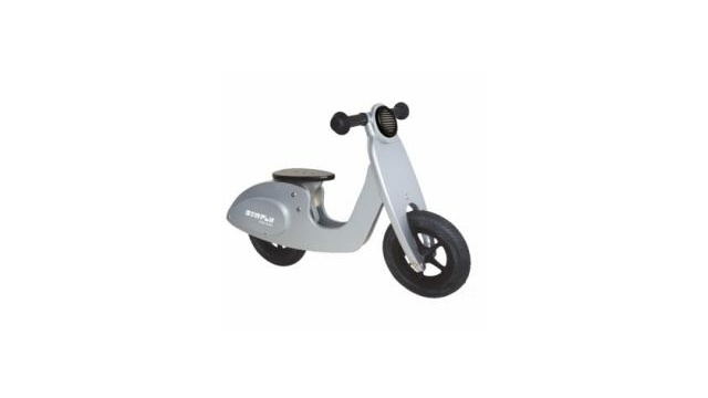 Simply for Kids Simply for Kids 22026 Houten Loopscooter Zilver