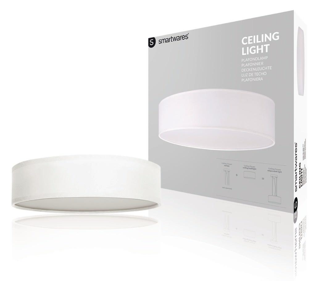 Ranex Ranex RA-1000468 Mia LED Plafond Lamp 40cm Wit