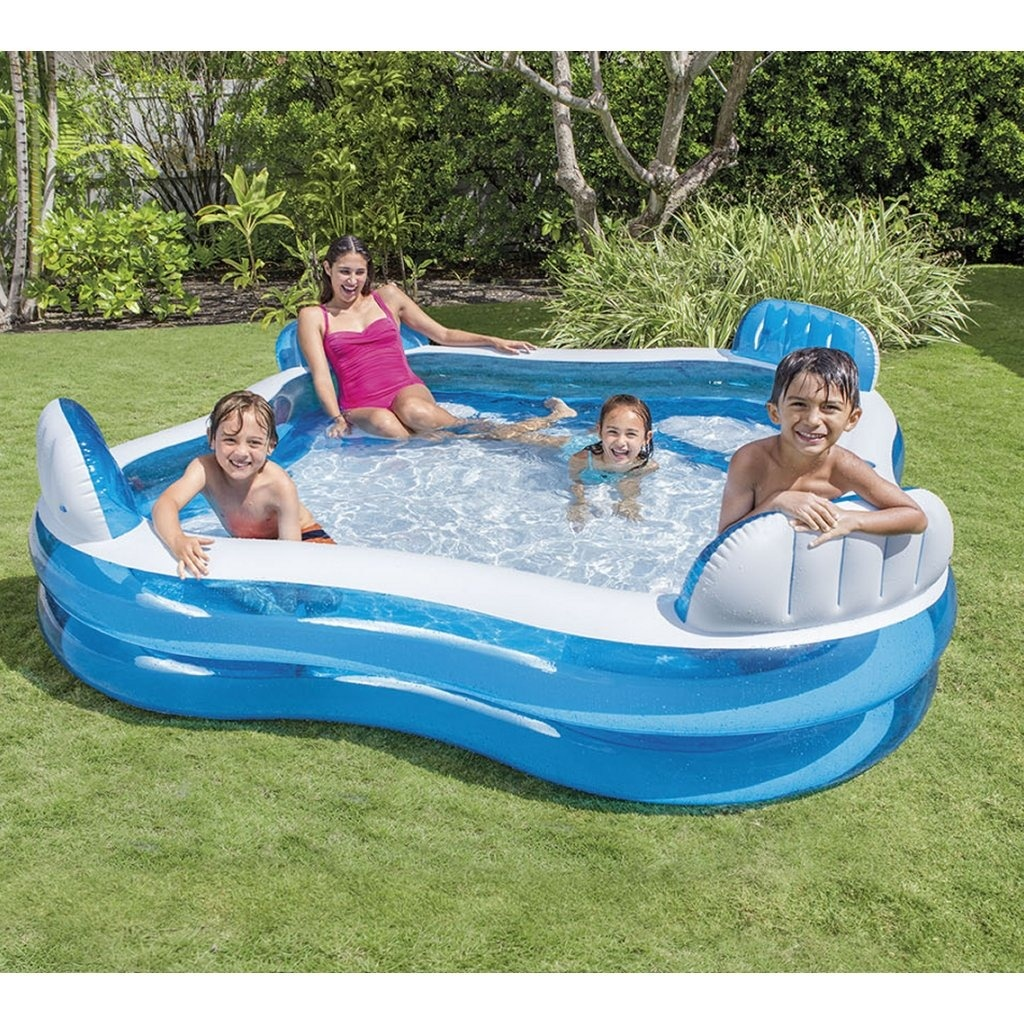 Intex Intex 56475NP Family Lounge Pool 229x229cm