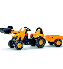 Rolly Toys Rolly Toys 023837 RollyKid JCB Tractor met Lader en Aanhanger