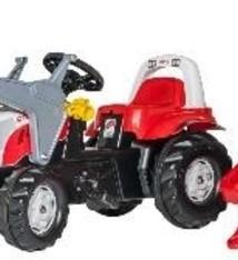 Rolly Toys Rolly Toys 023936 RollyKid Steyr 6190CVT Tractor met Lader en Aanhanger