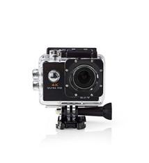 Nedis Nedis ACAM40BK Actioncam Ultra-hd 4k Wi-fi Waterdichte Behuizing