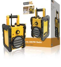 BasicXL BasicXL HDR10 Robuuste AM/FM Bouwradio