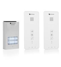Smartwares Smartwares DIC-21122 Audio Intercom Systeem voor 2 Appartementen