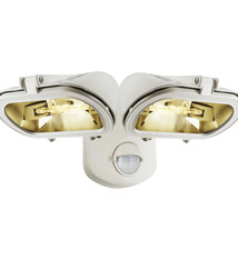 Smartwares Smartwares ES128W/2 Dubbele Halogeen Floodlight Schijnwerper + Sensor 31.6x13.8x23.3 cm