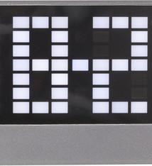 NeXtime NeXtime NE-5211ZW Wekker Loud 17.5x8.5x5cm ABS Zwart