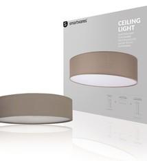 Ranex Ranex RA-1000471 Mia LED Plafond Lamp 40cm Bruin