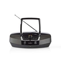 Nedis Nedis SPBB200BK Boombox 12 W Bluetooth® Cd-speler / Fm-radio / Usb / Aux Zwart