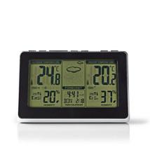 Nedis Nedis WEST400BK Weerstation Draadloze Sensor Alarmklok Weersvoorspelling