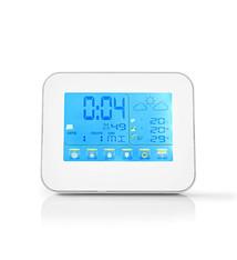 Nedis Nedis WEST401WT Weerstation Draadloze Sensor Alarmklok Weersvoorspelling