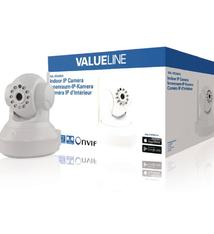 Valueline Valueline SVL-IPCAM10 Hd Pan-tilt Ip Camera Binnen 720p Wit