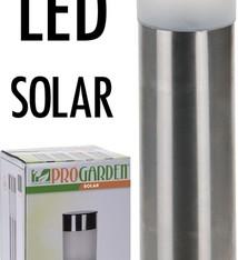 ProGarden Solar Tuinlampen LED set van 4