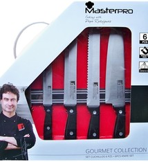 Bergner Masterpro 6-delige messenset