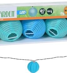 ProGarden Solar LED lampionnen - 10 stuks gekleurd