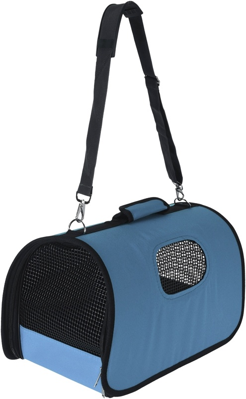 Pets Collection Dierendraagtas 43x25x25 cm - blauw