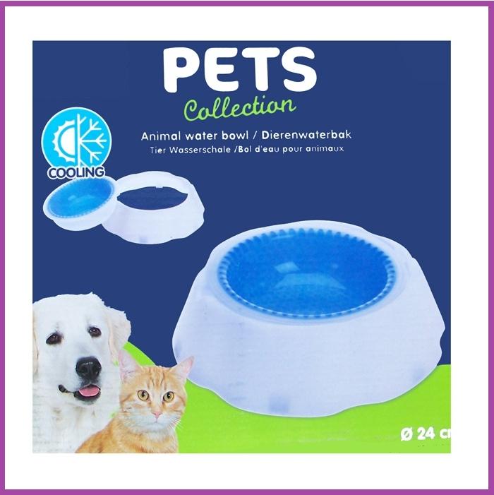 Pets Collection Pets Collection Dierenwaterbak met koelfunktie - 24cm