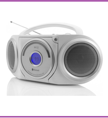 Soundmaster Soundmaster RCD5000WS Stereo radio CD/MP3-speler met Bluetooth en NFC