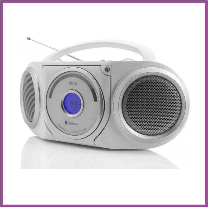 Soundmaster Soundmaster RCD5000WS Stereo radio CD/MP3-speler met Bluetooth en NFC