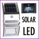 ProGarden Solarlamp met bewegingsmelder - RVS