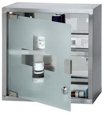 RVS medicijnkastje (30x30x12cm)
