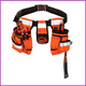 ToolPack ToolPack Hi-Vis Gereedschapsgordel met 2 holsters