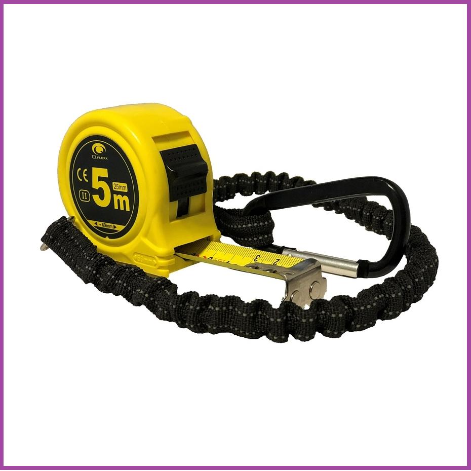 Q Flexx Q Flexx Robuuste rolbandmaat met elastisch anti-shock-koord