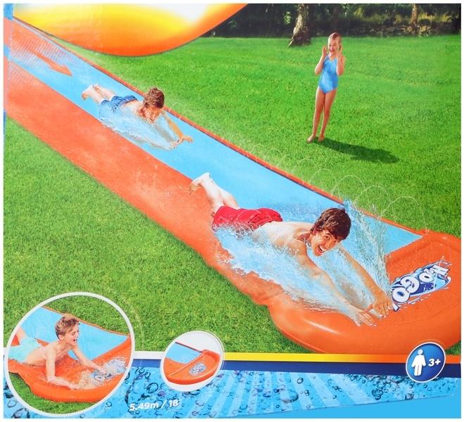 Bestway Waterglijbaan double slide