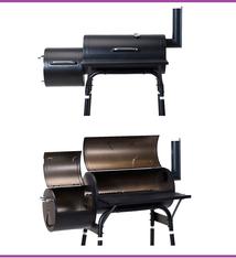 Vaggan Vaggan Smoker Houtskoolbarbecue - zwart