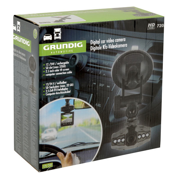 Grundig Dashcam - 2.5 inch
