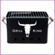 BBQ BBQ Retro Tafel-barbecue - Grill King