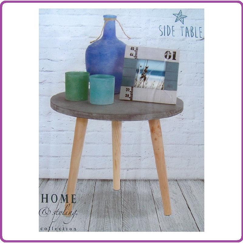 Home & Styling Home & Styling Bijzettafel betonlook