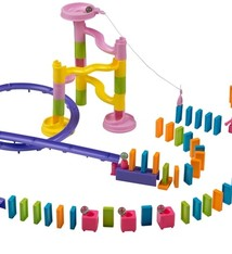 Eddy Toys Domino playset - 158 dlg