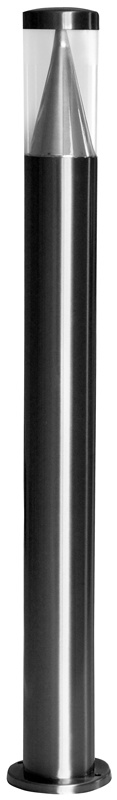 I-Watts Outdoor LED Buitenlamp RVS - 80cm - 15 LED