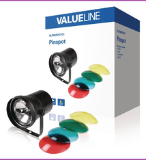 Valueline VLPINSPOT01 4-Kleurige Halogeen Pin-Spot