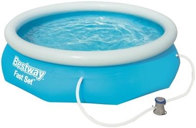 Bestway Zwembad fast set met filterpomp - Ø305cm