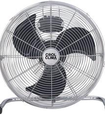 Cool Clima Vloerventilator - Ø40cm - RVS