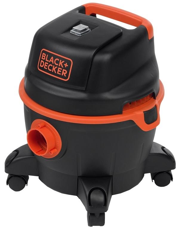 Black+Decker Stofzuiger - nat en droog - 1200W -15 liter