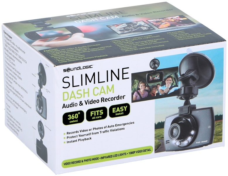 Soundlogic Dashcam Slimline