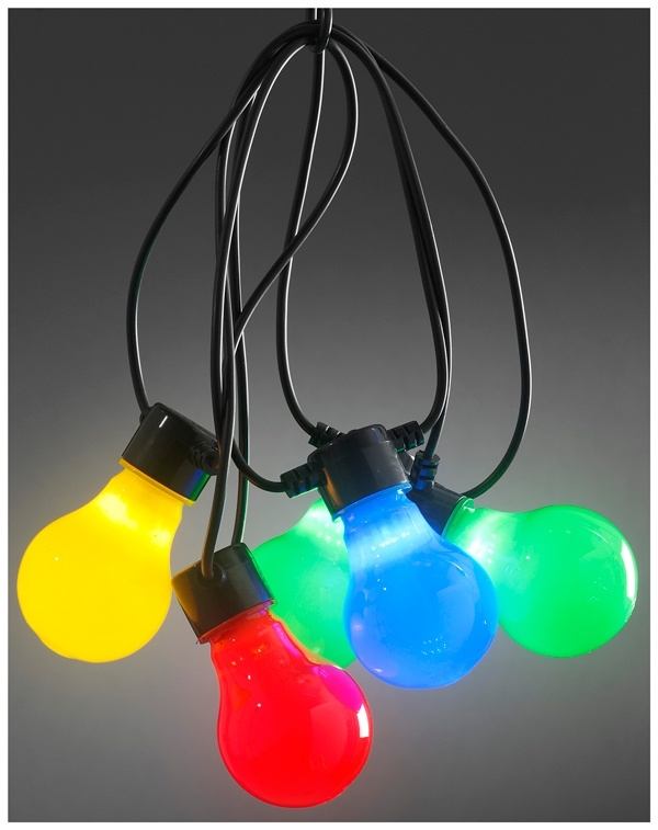 Konstsmide LED Tuinverlichting multicolor - 80 LED's