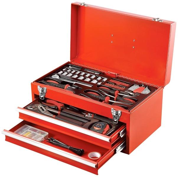 FX Tools Gereedschapskist gevuld met gereedschap - 196 delig