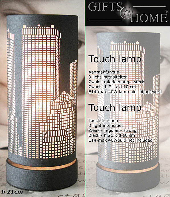 Gifts@Home Touchlamp Metropool