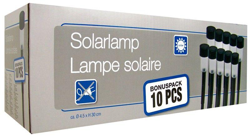 LED solarlampen (set van 10 stuks)